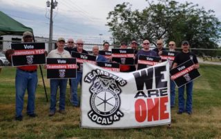 Teamsters Local 41 at XPO Logistics