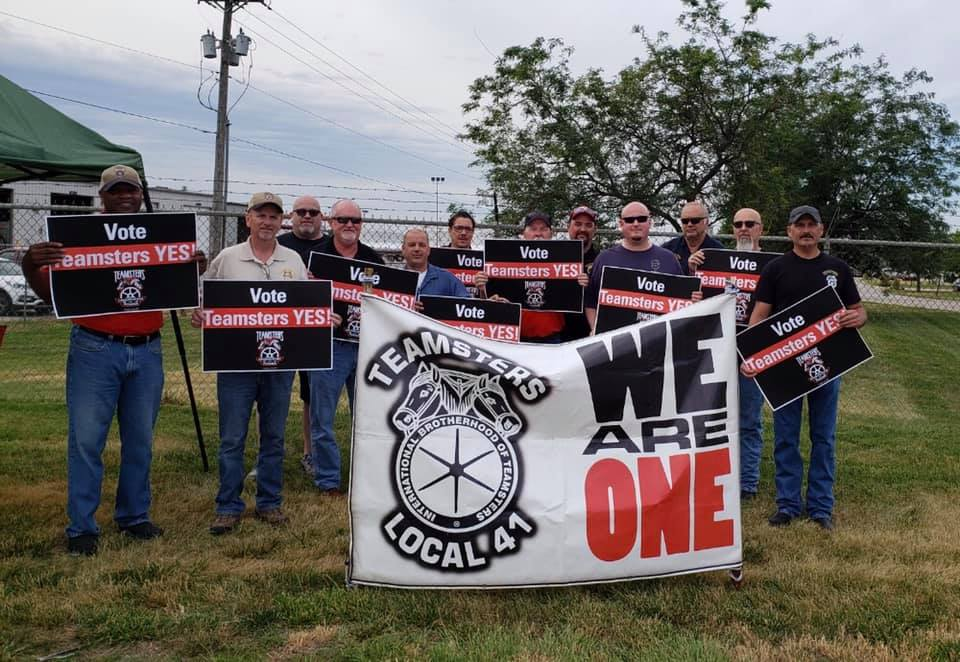Teamsters Local 41 at XPO Freight