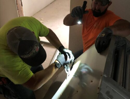 SHEET METAL LOCAL 2 APPRENTICES VOLUNTEER TO HELP THEIR COMMUNITY