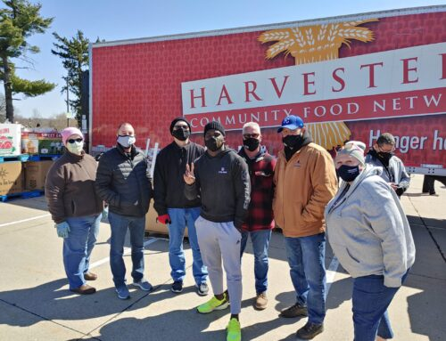 Labor Steps Up To Help With Community Food Event