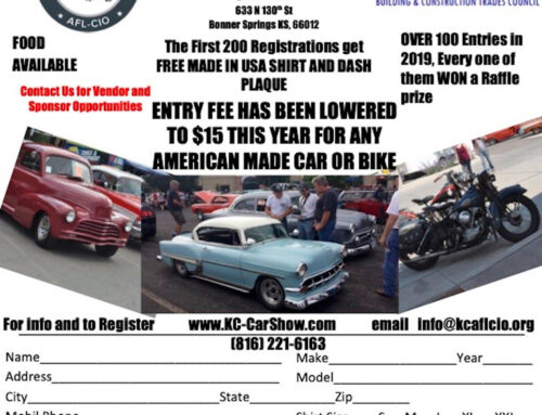 SAVE THE DATE FOR THE UNION CAR AND BIKE SHOW